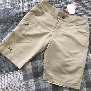 Under Armour Heat Gear Sz 2 Golf Hiking Shorts 11""